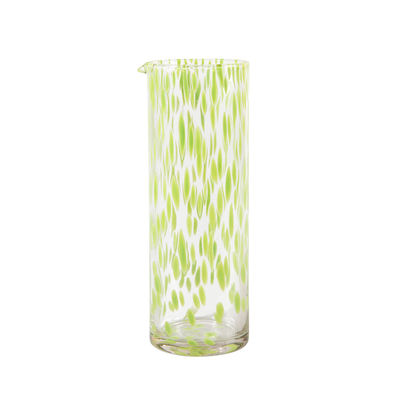 Tableware - Water Carafes & Wine Decanters - Tortoise Carafe - / 0.8 Litre by & klevering - Green & transparent - Blown glass