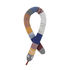 Mini Snake Dusty Rainbow Cushion - / Valance - L 105 cm by Ferm Living