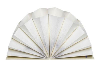 Accessoires - Accessoires für das Büro - Plissé A4 Dokumentenmappe / Dokumentenmappe - 35 x 23 cm - Hay - Nebula / blau - Hartpappe, Papierfaser