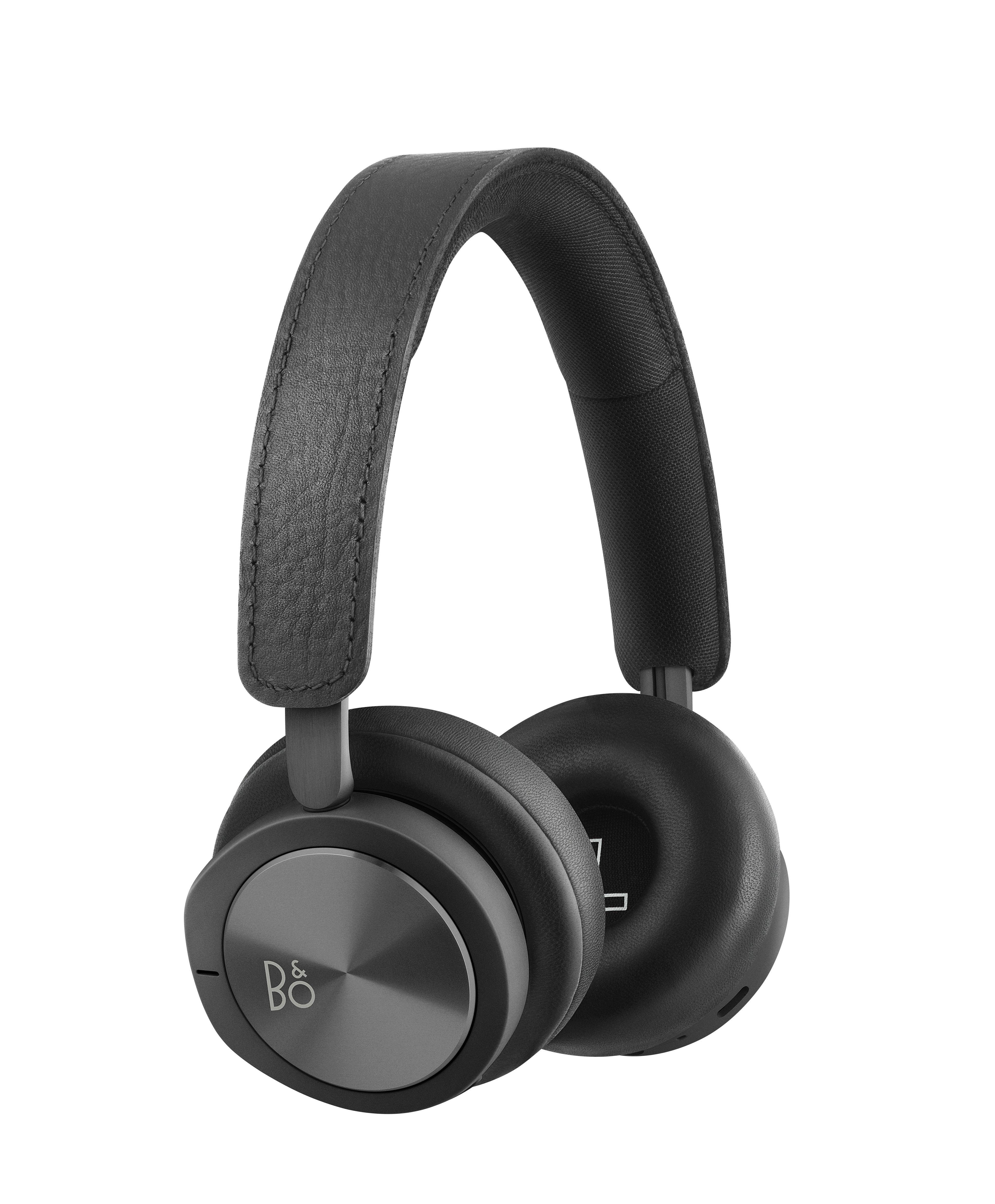 Accessoires - Lautsprecher & Ton - Beoplay H8i Kabellose Kopfhörer / Bluetooth - mit aktiver Geräuschunterdrückung - B&O PLAY by Bang & Olufsen - Schwarz - eloxiertes Aluminium, Leder