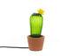 Lampada da tavolo Cactus Sunrise Small - / Cemento & vetro - H 30 cm di Seletti