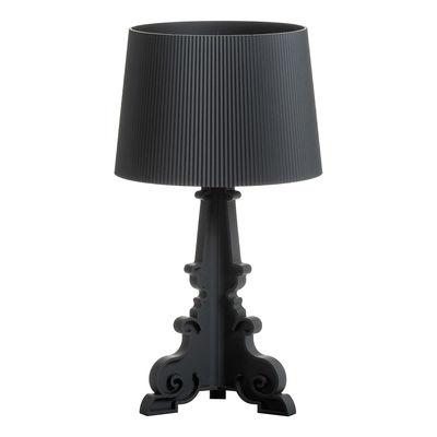 Luminaire - Lampes de table - Lampe de table Bourgie / Version mate - H 68 à 78 cm - Kartell - Noir mat - Polycarbonate 2.0