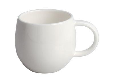Tableware - Coffee Mugs & Tea Cups - All-time Mocha cup - time - Moka cup in bone china by A di Alessi - White - Moka cup - Bone china