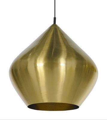 Lighting - Pendant Lighting - Beat Stout Pendant by Tom Dixon - Brushed brass - Brass