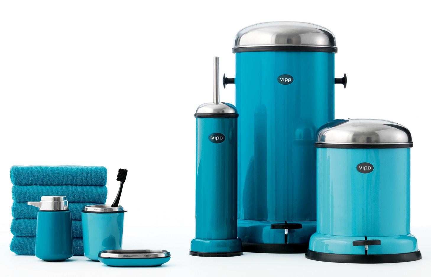 Poubelle Vipp poubelle vipp24 / 30 litres noir - vipp | made in design