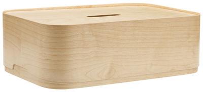 Dekoration - Schachteln und Boxen - Vakka Schachtel / 45 x 30 x H 15 cm - Iittala - Holzfarben - Furnier