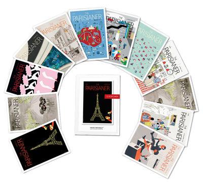 Set The Parisianer / 12 cartes postales - Image Republic multicolore en papier
