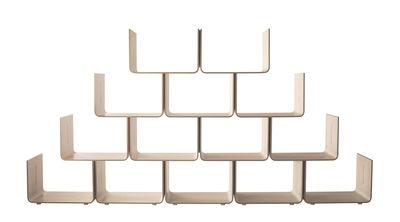 Furniture - Bookcases & Bookshelves - Elysée Shelf - Basic unit by Magis - Natural - Basic unit - Maple plywood