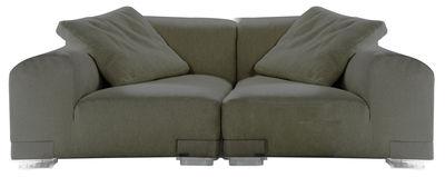 Plastics Duo Sofa Komposition Nr. 1 - Kartell - Grau
