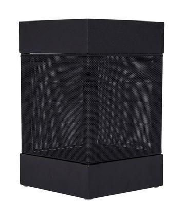 Lighting - Table Lamps - La Lampe Pose 03 Solar lamp by Maiori - Charcoal - Aluminium, Technical fabric