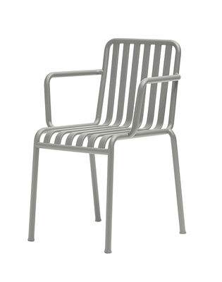 Palissade Stapelbarer Sessel / R & E Bouroullec - Hay - Hellgrau