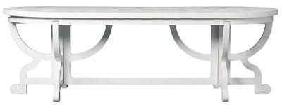 Maison et Objet - New archetyps - Table rectangulaire Paper / 240 x 100 cm - Moooi - Blanc - Carton, MDF, Papier