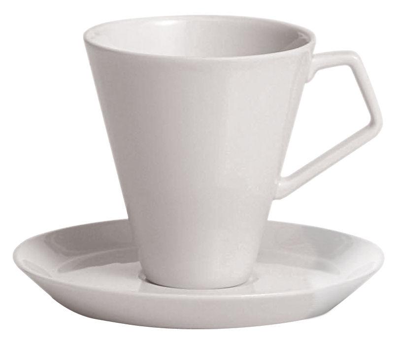 Arts de la table - Tasses et mugs - Tasse à café Anatolia - Driade Kosmo - Tasse blanche - Porcelaine