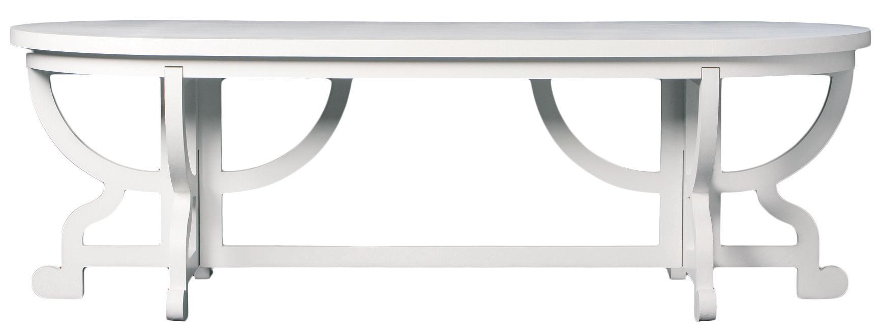 Maison et Objet - NUOVI ARCHETIPI  - Tavolo rettangolare Paper di Moooi - Bianco - Carta, Cartone, MDF