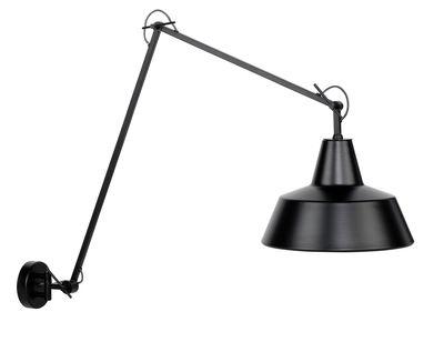 Illuminazione - Lampade da parete - Applique Chicago - / L 60 a 130 cm di It's about Romi - Nero - Ferro dipinto