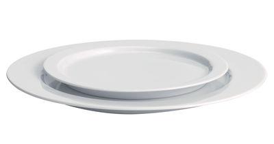 Arts de la table - Assiettes - Assiette à dessert Anatolia Ø 19,5 cm - Driade Kosmo - Blanc - Porcelaine