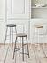 Cornet Bar stool - / H 75 cm - Bois & métal by Hay