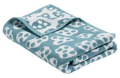 Decoration - Bedding & Bath Towels - He She It Bath towel - 140 x 70 cm by Hay - Aqua green / Cream - Cotton