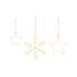 Christmas decoration - / Set of 3 by House Doctor