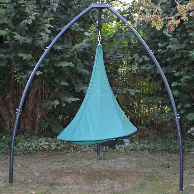 Möbel - Möbel für Kinder - Hülle / Für Bebo-Zelte - Ø 120 cm - Cacoon - Grün - Polyester-Gewebe