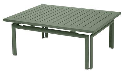 Table basse Costa / Aluminium - 100 x 80 cm - Fermob cactus en métal