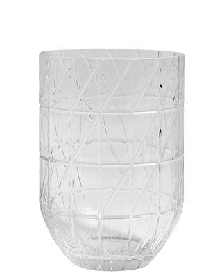 Interni - Vasi - Vaso Colour Large - / Ø 13.5 x H 19 cm di Hay - Trasparente - vetro soffiato