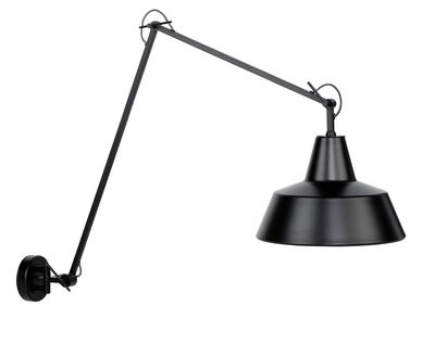 Lighting - Wall Lights - Chicago Wall light - / L 60 to 130 cm by It's about Romi - Black - Painted iron