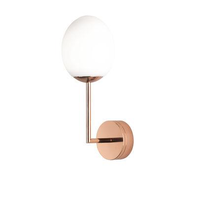 Lighting - Wall Lights - Kiwi LED Wall light by Astro Lighting - Polished copper - Glass, Zinc
