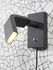 Zurich LED Wall light with plug - / Adjustable reading lamp - Metal by It's about Romi