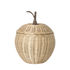 Apple Large Basket - / Wicker - Ø 36.5 x H 52 cm by Ferm Living