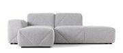 Canapé d'angle BFF Accoudoir gauche L 221 Moooi gris en tissu