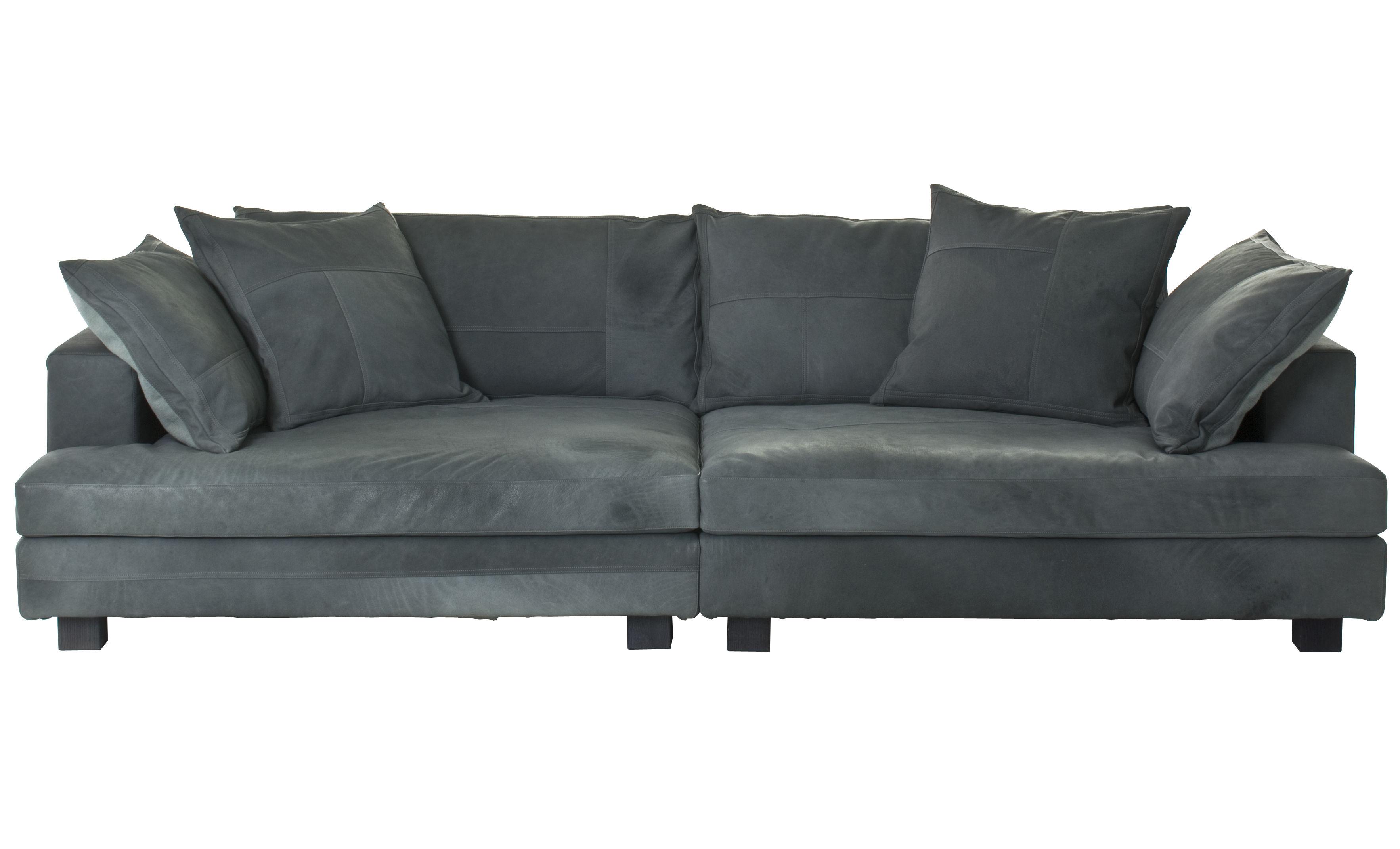 canap droit cloud atlas cuir 3 places l 220 cm cuir bleu vert diesel with moroso made. Black Bedroom Furniture Sets. Home Design Ideas