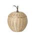 Cestino Apple Large - / Vimini - Ø 36,5 x H 52 cm di Ferm Living