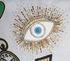Coussin Bijoux Scatter / 46 x 46 cm - Lin & perles brodées main - Jonathan Adler