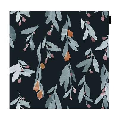 Decoration - Cushions & Poufs - Pieni Hyhmä Cushion cover - / 50 x 50 cm by Marimekko - Pieni Hyhmä / Blue, red - Cotton