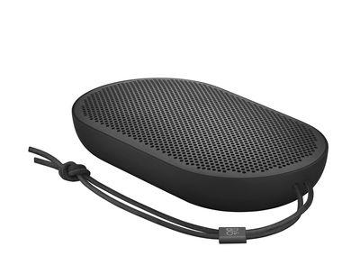 Enceinte Bluetooth P2 sans fil Ultra nomade 14 x 8 cm B O PLAY by Bang Olufsen noir en matière plastique