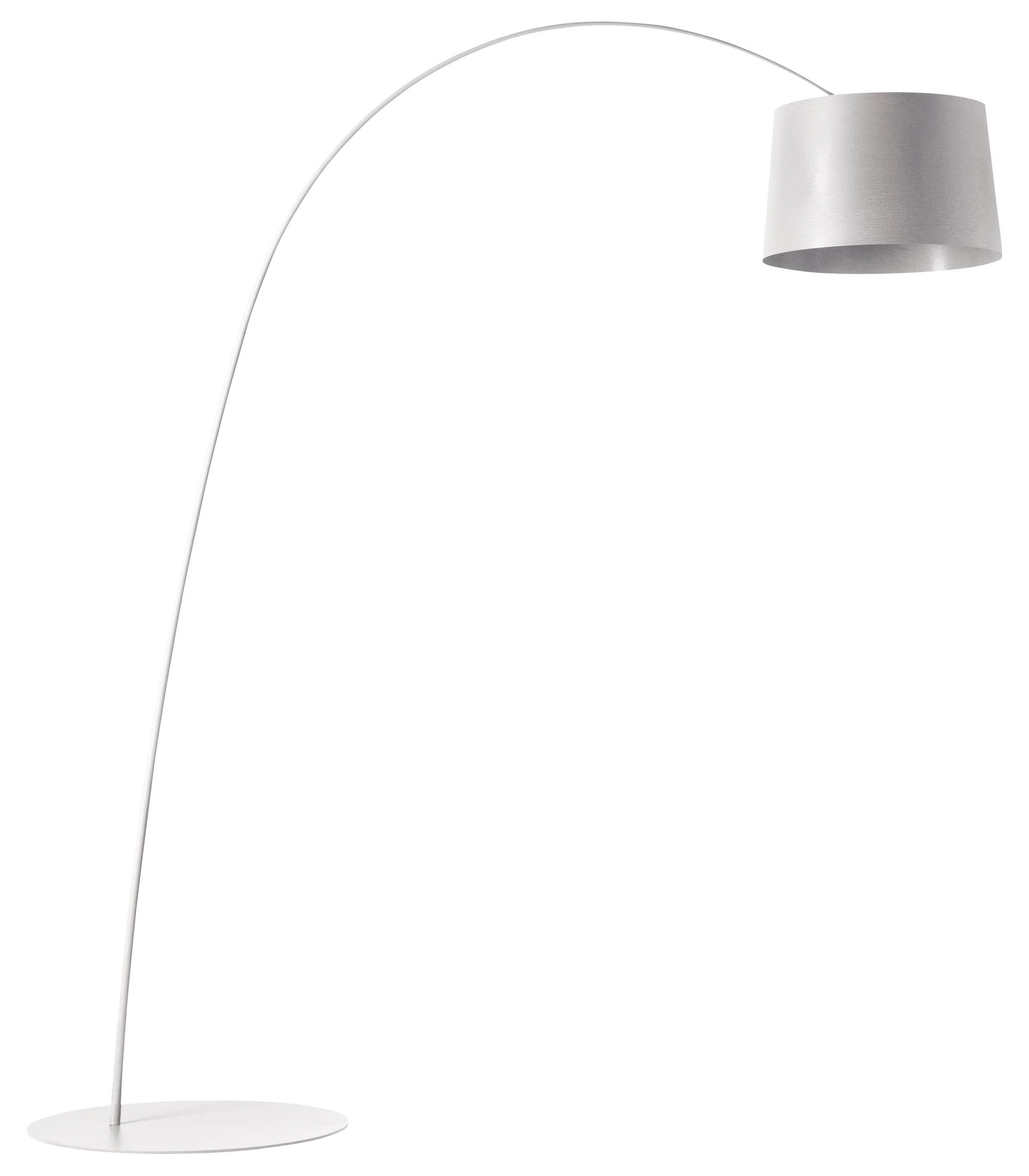 Lighting - Floor lamps - Twiggy Floor lamp by Foscarini - White - Composite material, Fibreglass