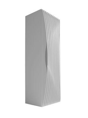 Image of Guardaroba Blend - 1 porta di Horm - Bianco - Legno
