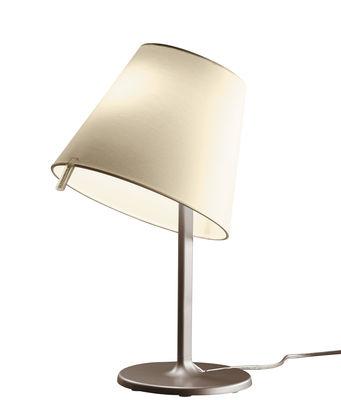 Lampe de table Melampo Notte / H 42 cm - Artemide bronze,ecru en métal