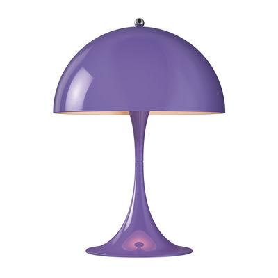 Lampe de table Panthella Mini LED / H 33,5 cm - Métal - Louis Poulsen violet en métal
