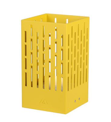 Lampe solaire La Lampe Pose 04 / LED - Hybride & connectée - Maiori moutarde en métal