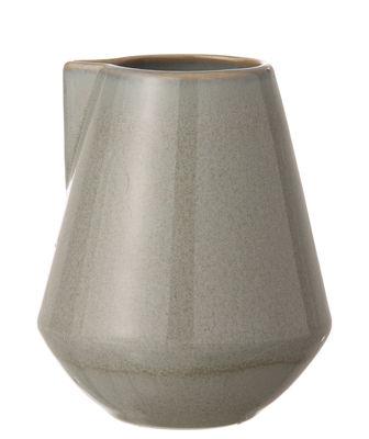Küche - Zuckerdosen und Milchkännchen - Neu Small Milchtopf / Ø 9 x H 10,5 cm - Ferm Living - Grau - emaillierte Keramik