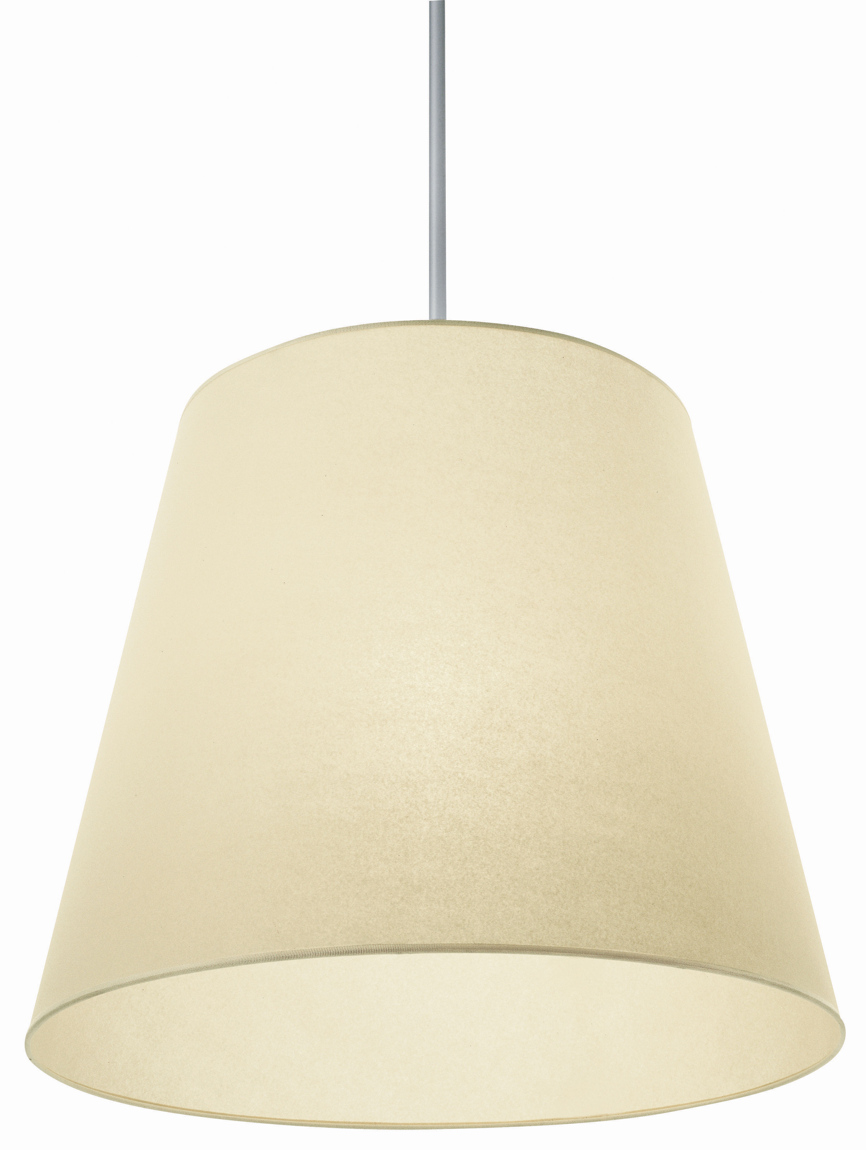 Lighting - Pendant Lighting - Gilda Pendant by Pallucco - Ivory synthetic paper - Synthetic parchment paper