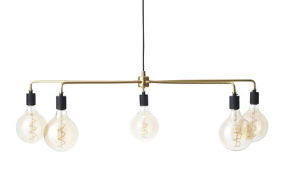 Chambers chandelier Pendelleuchte / Ø 96 cm - Menu - Messing