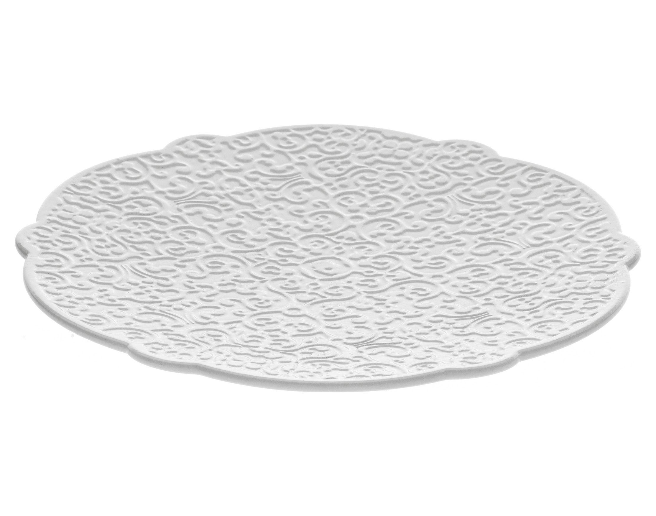 Tavola - Tazze e Boccali - Piattino sottotazza Dressed - per tazza da tè di Alessi - Piattino per tazza da tè - Bianco - Porcellana