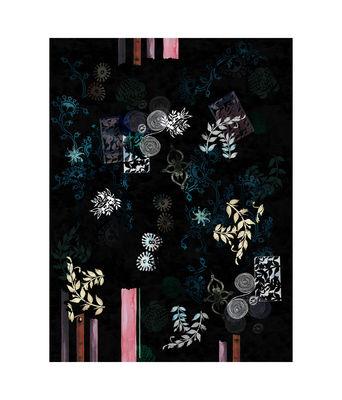 Decoration - Rugs - Le Temple Jais Rug - / 200 x 300 cm by Moooi Carpets - Black - Polyamide