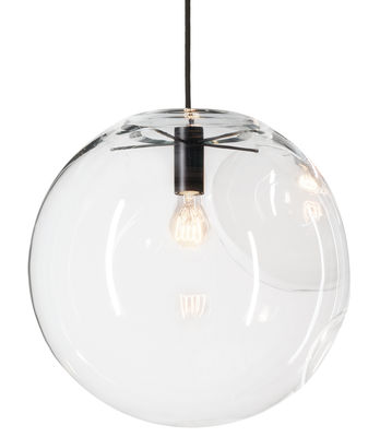 Illuminazione - Lampadari - Sospensione Selene di ClassiCon - Ø 45 cm - Vetro - metallo laccato, Vetro soffiato a bocca