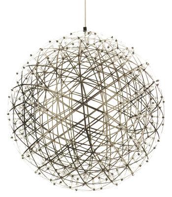 Illuminazione - Lampadari - Sospensione Raimond di Moooi - Ø 43 cm - Acier poli - Acciaio inossidabile, Alluminio