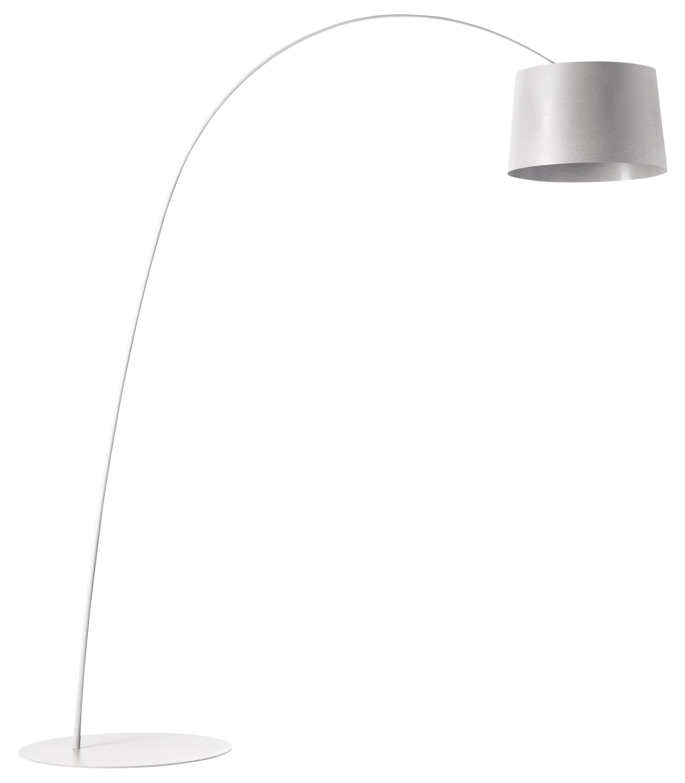 Leuchten - Stehleuchten - Twiggy Stehleuchte - Foscarini - Weiß - Glasfaser, Verbund-Werkstoffe
