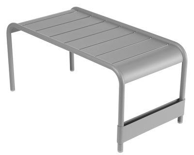 Table basse Luxembourg / Banc - L 86 cm - Fermob gris métal en métal